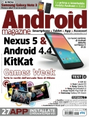 continua... ANDROID MAGAZINE N.27